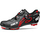 Sidi Drako Carbon SRS Shoes Men Matt Black/Red